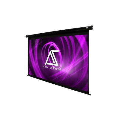 Akia Motorized 8K/4K Ultra HD 3D Ready Wall/Ceiling Mounted Electric White 104 Electric Projection Screen