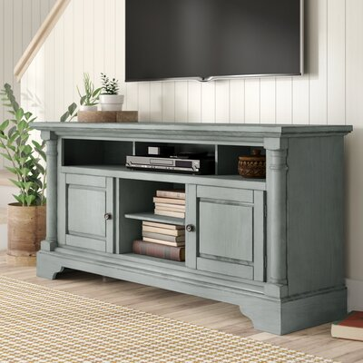 Findlay 64 TV Stand Color: Mineral Gray