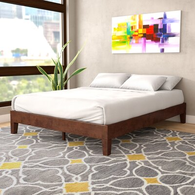 Baley Solid Wood Platform Bed Size: Twin