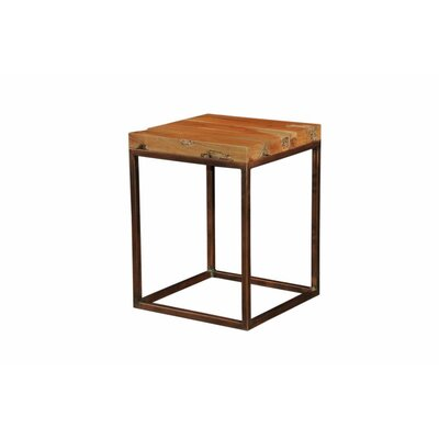 Westerberg Trim Live Edge End Table