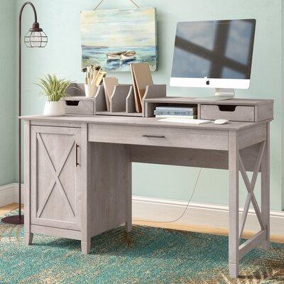 Oridatown Computer Desk Finish: Washed Gray