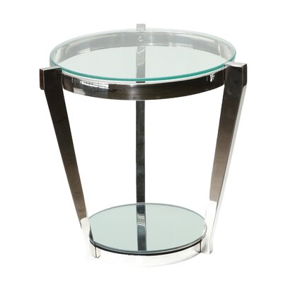 Dickamore Double Shelf End Table