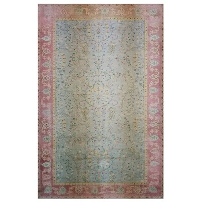 One-of-a-Kind Wendland Pink/Green Area Rug