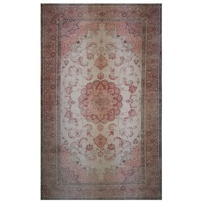 One-of-a-Kind Wendland Brown/Pink Area Rug