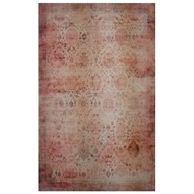 One-of-a-Kind Wendland Orange Area Rug