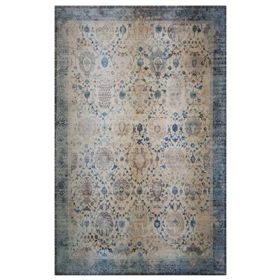 One-of-a-Kind Wensley Beige/Blue Area Rug