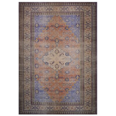 One-of-a-Kind Wensley Brown/Orange Area Rug