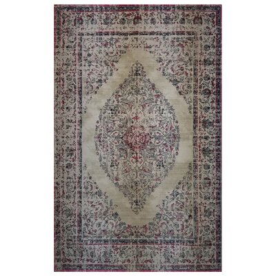 One-of-a-Kind Honesdale Beige/Red Area Rug
