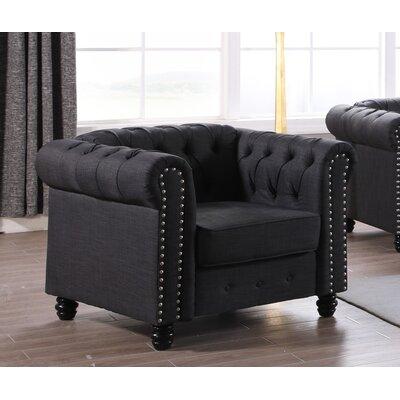 Audwin Armchair Upholstery : Dark Gray