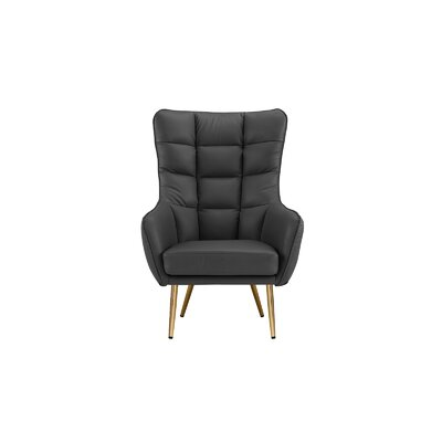 Eckart Armchair Upholstery : Dark Gray