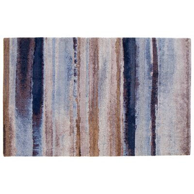 Indigo Dreams Brown Area Rug Rug Size: Rectangle 5 x 8