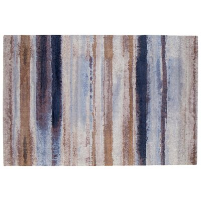 Indigo Dreams Brown Area Rug Rug Size: Rectangle 6 x 9