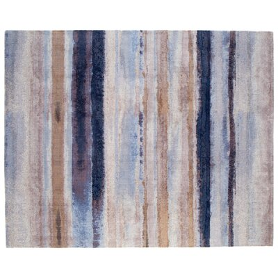 Indigo Dreams Brown Area Rug Rug Size: Rectangle 8 x 10