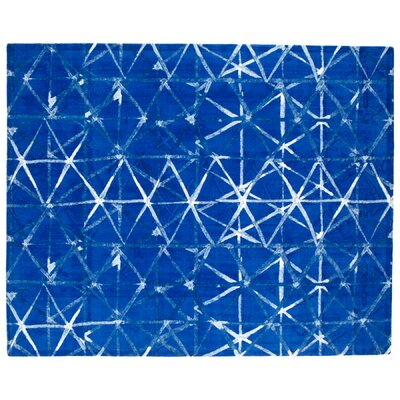 Shibori Weave Blue Area Rug Rug Size: Rectangle 8 x 10