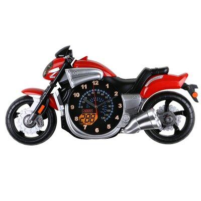 Kimbell Bike Motorcycle Children's Wall Clock 2C04A0E5CF05485D8E367ECFCE764F14