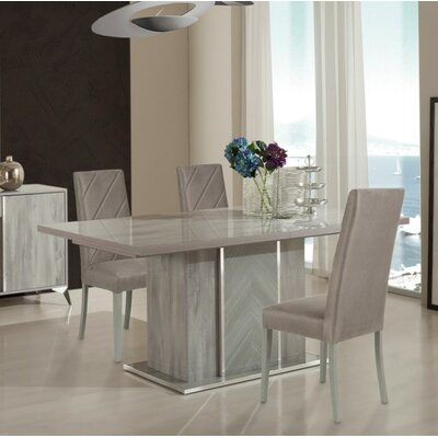 Labombard Modern Extendable Drop Leaf Dining Table