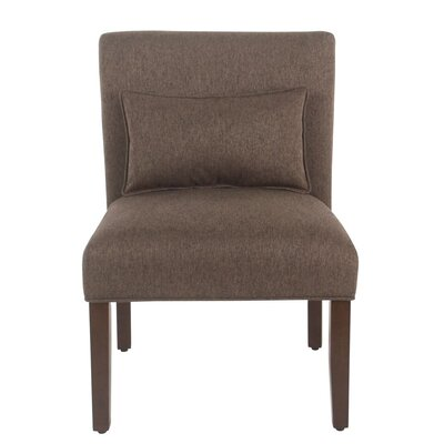 Portillo Slipper Chair Upholstery: Brown