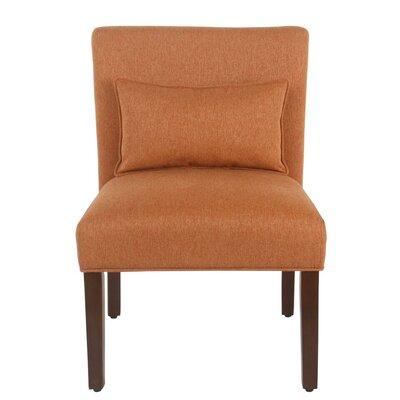 Portillo Slipper Chair Upholstery: Orange