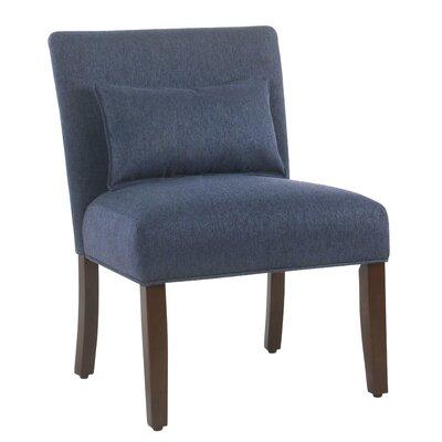 Portillo Slipper Chair Upholstery: Blue