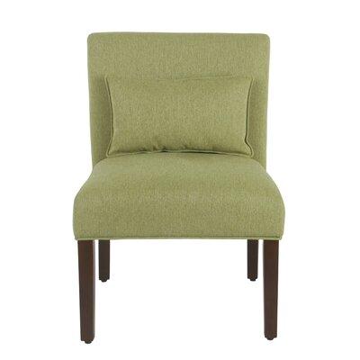 Portillo Slipper Chair Upholstery: Green