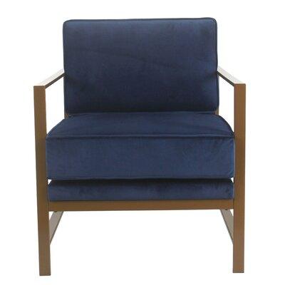 Gerhard Armchair Upholstery: Blue