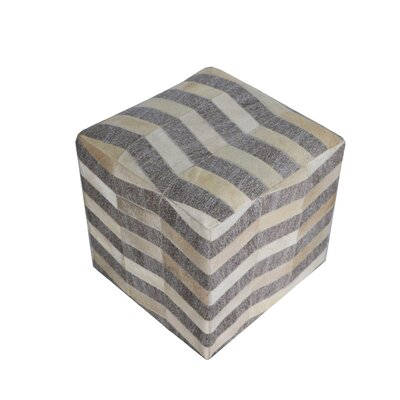 Golliday Geometric Pouf