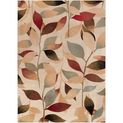 Yden Brown Area Rug Rug Size: 53 x 76