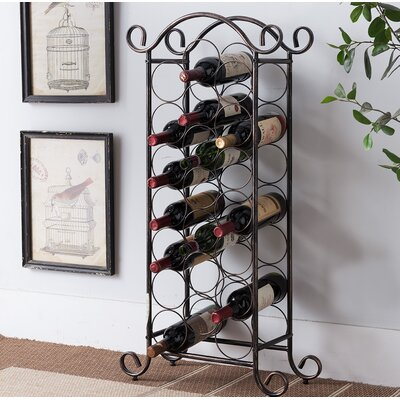 Corell Park 20 Floor Wine Rack