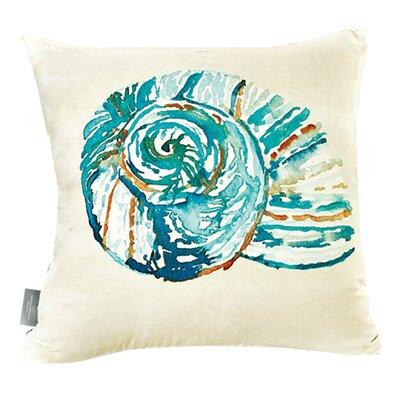 Colan Conch Shell Cotton Throw Pillow