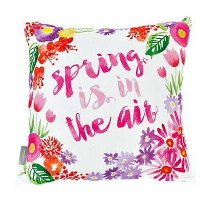 Fiorito Spring is in the Air Cotton Throw Pillow