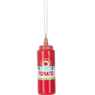 Ketchup Squeeze Bottle Hanging Figurine 3CDA4AA87C9A4810A8B56033A9C76392