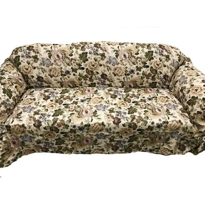 Romance Box Cushion Sofa Slipcover