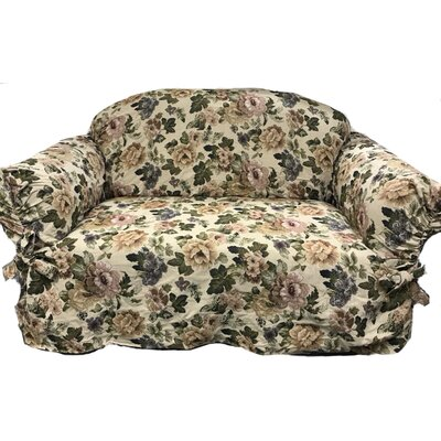 Romance Box Cushion Loveseat Slipcover