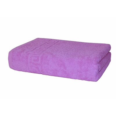 Paes 100% Cotton Bath Towel Color: Pink