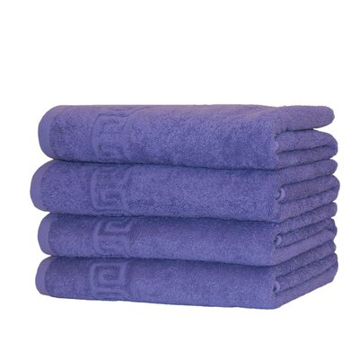 100% Cotton 8 Piece Towel Set Color: Lavender