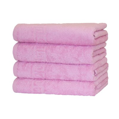 100% Cotton 8 Piece Towel Set Color: Pink