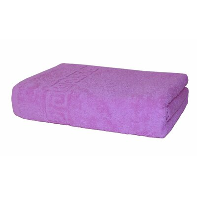 100% Cotton Bath Towel Color: Pink