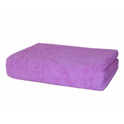 Prim 100% Cotton Bath Towel Color: Pink