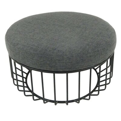 Mcnab Chic Cage Base Cocktail Ottoman