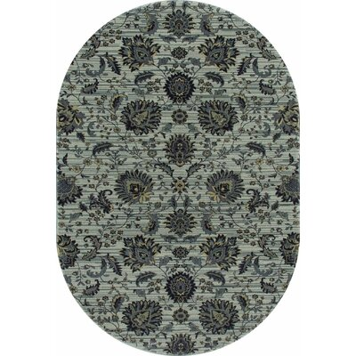 Rangel Light Gray Area Rug Rug Size: Oval 311 x 61