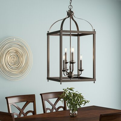 Celestine 6-Light Foyer Pendant Finish: Olde Bronze