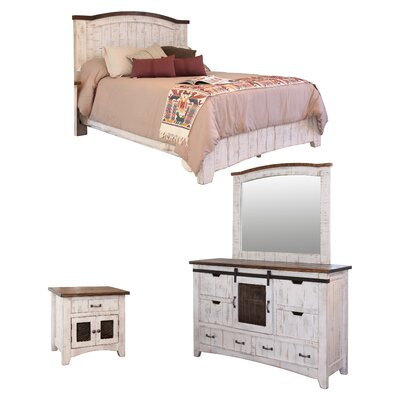 Pueblo Panel Configurable Bedroom Set