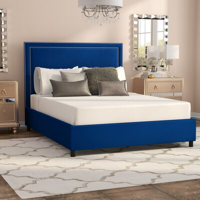 Bram Upholstered Platform Bed Size: Queen WLAO2213 40855133