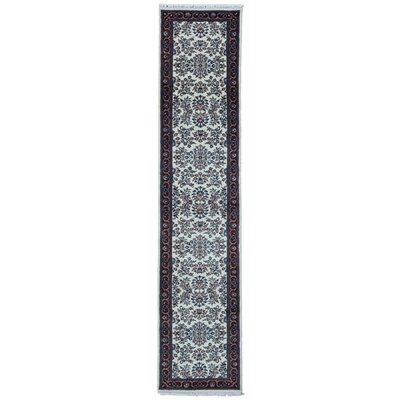 One-of-a-Kind Balcones Runner Hand-Knotted Wool Beige Area Rug