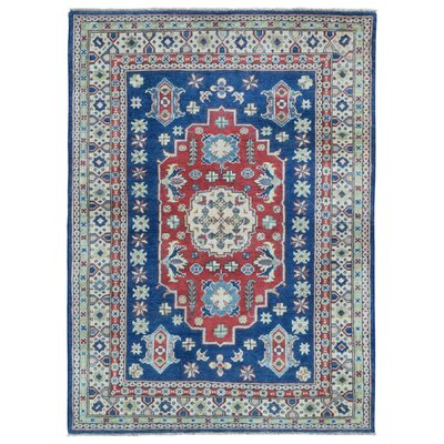 One-of-a-Kind Abbotsford Oriental Hand-Knotted Wool Beige/Red Area Rug