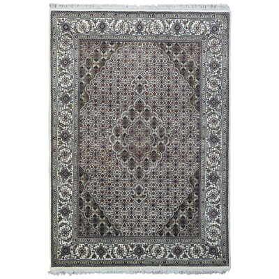 One-of-a-Kind Avonmore Oriental Hand-Knotted Wool Beige/Olive Area Rug