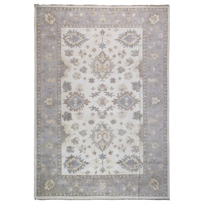 One-of-a-Kind Mitchel Oriental Hand-Knotted Wool Beige Area Rug