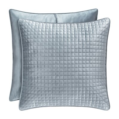 Baltasar Quilted Sham Size: Euro, Color: Blue