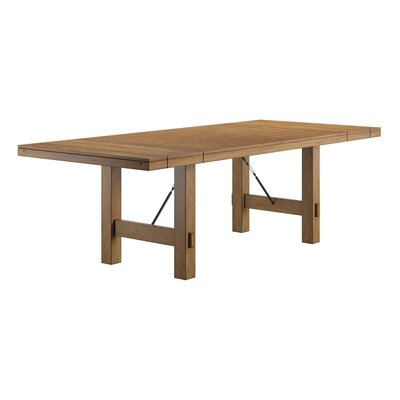 Aganlane Extendable Dining Table Color: Brown