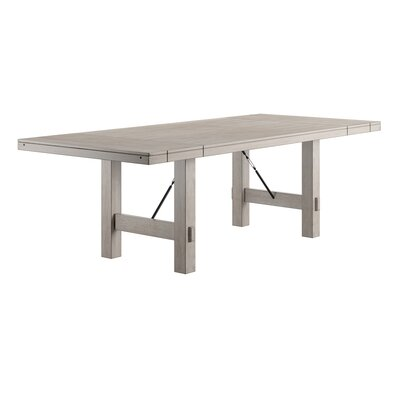 Aganlane Extendable Dining Table Color: White